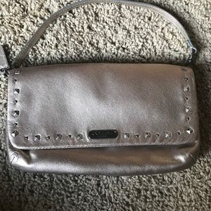 Coach wristlet with strap